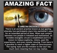 eye gazing benefits