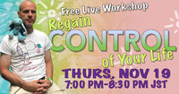 regain control of your life 2020 nov 19th 7pm