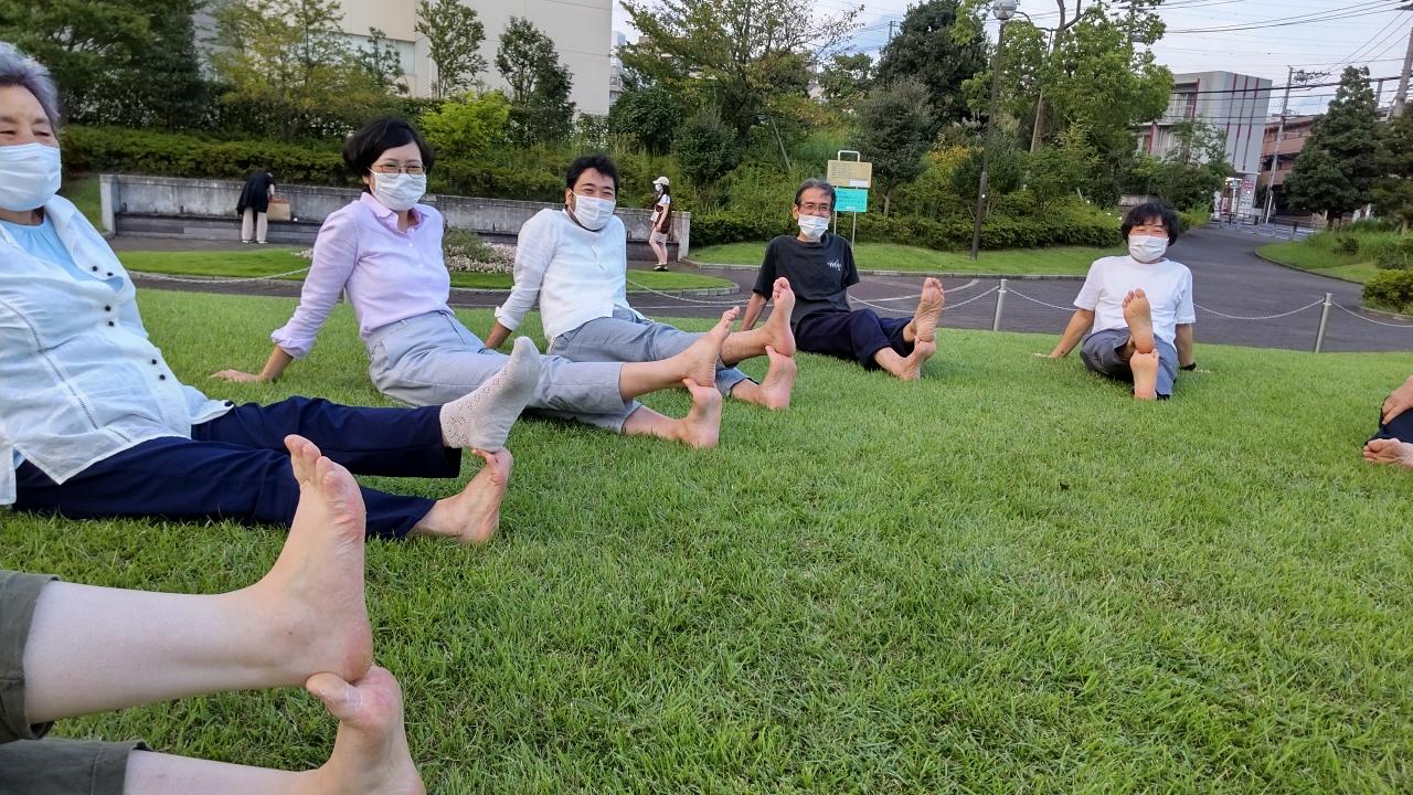 2021 sep 15 arisa yumehiro shinagawa son sole stretch