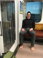 barefoot rob on train