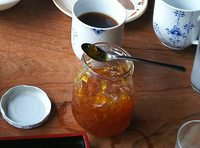 2020 june 14 breakfast homemade jam