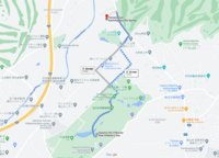 Walk 2km Sayama City Chikozan Park Children's Zoo to Tennenonsen Kachofugetsu Hot Spring
